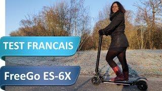 FreeGo ES-6X - Test de la trottinette électrique concurrente de la Ninebot ES1 mais moins cher