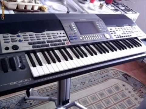 Yamaha psr 9000 pro miki set uzivo 0612921914 youtube for Yamaha professional keyboard price