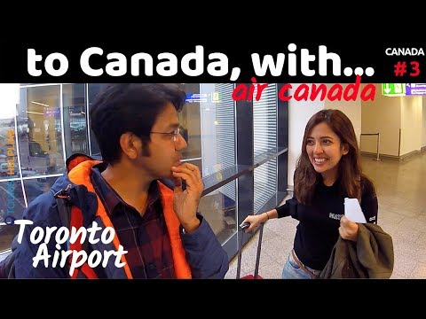Frankfurt To Toronto: Air Canada | See Whom I Met!