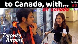Frankfurt to Toronto: Air Canada | See whom I met!