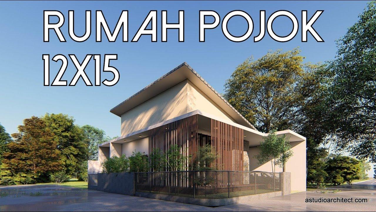58 Desain Taman Rumah Pojok Gratis Terbaru
