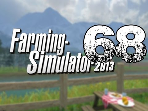 Farming Simulator 2013 - Let's Play Career Gameplay Part 68 - Baleing Invisible Crops