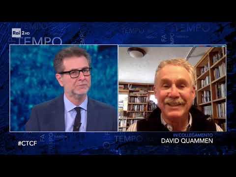 David Quammen - Che tempo che fa 15/03/2020