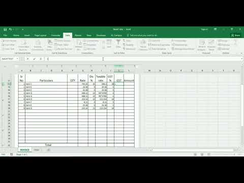 HOW TO CREATE BILLING SOFTWARE IS EXCEL FULL VIDEO