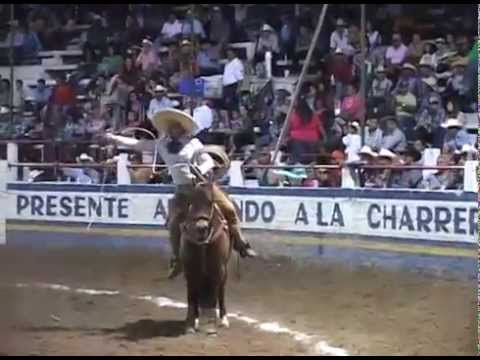Full Rodeo in Mexico, horses, bull riding, accidents, falls!