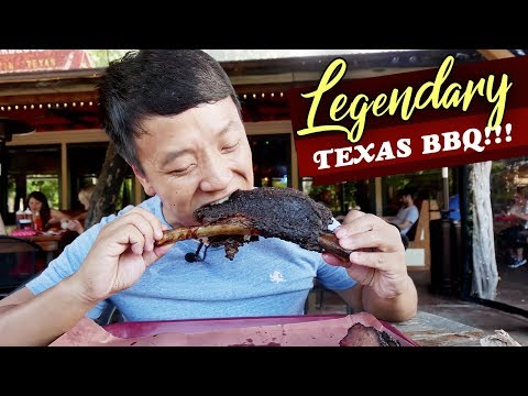 LEGENDARY Texas BBQ! BEST Beef Brisket | Franklins Vs. Terry Black's In Austin Texas | 5 HOUR WAIT!