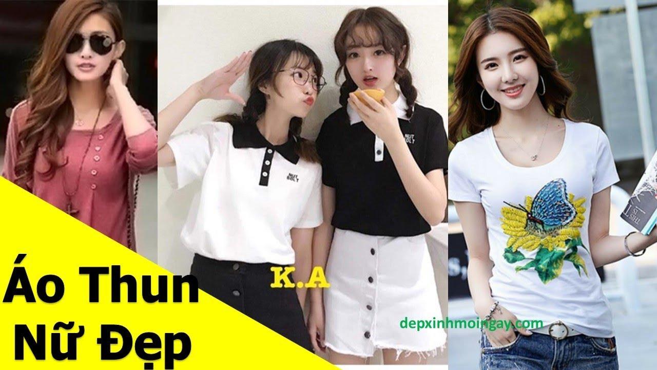 50 mẫu áo thun nữ đẹp , áo phông nữ đẹp, Xu hướng thời trang 2019