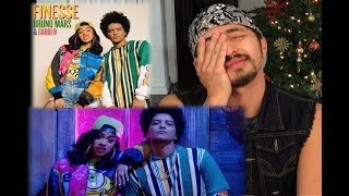 Bruno Mars - Finesse (Remix) [Feat. Cardi B] [Official Video] | REACTION VIDEO 90S VIBES
