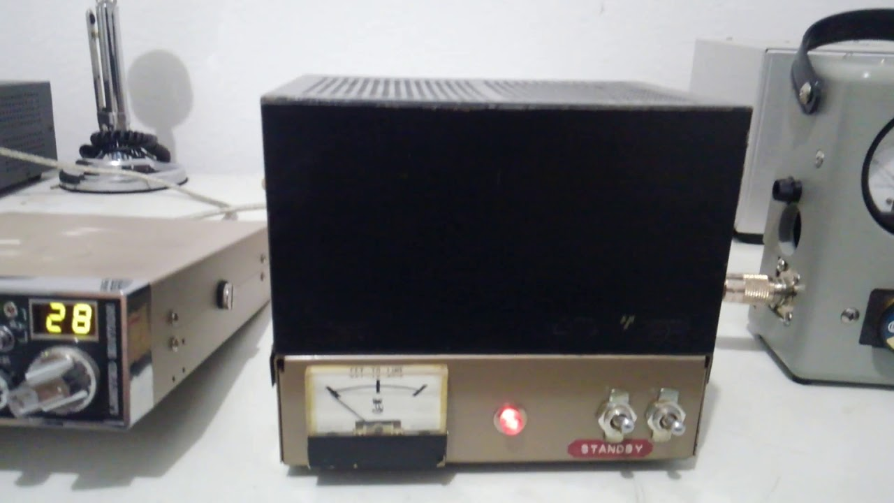 Black Cat Wawasee JB150 Amplifier/Modulator Vintage