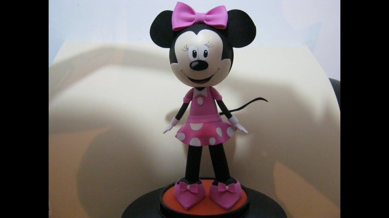Hacer Mouse Un Mesa De De Como Minnie Centro