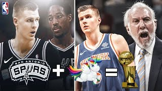 Lets See If Kristaps Porzingis Signing with The San Antonio Spurs Results In An NBA Championship