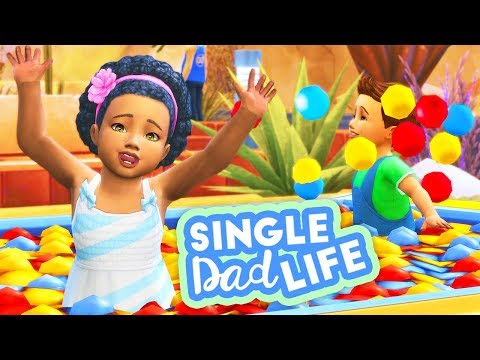 THE TWINS BIRTHDAY! FINALLY CHILDREN?? // THE SIMS 4 | SINGLE DAD LIFE #31 thumbnail