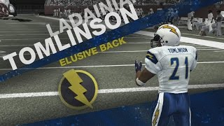 MADDEN 08 XBOX 360 - OVER POWERED PLAYERS - PATS VS CHARGERS