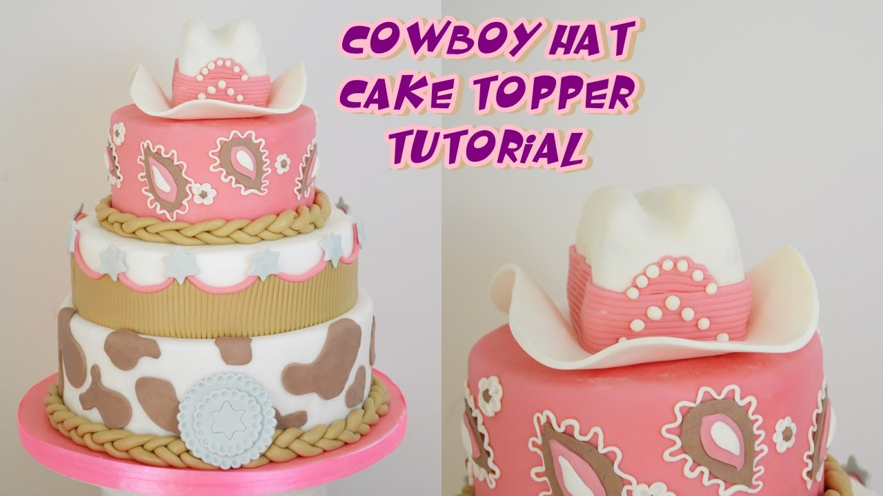 How To Make A Cowboy Cake Topper