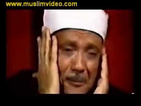 فيديو نادر للشيخ وهو يبكي من خشية الله ويتماسك