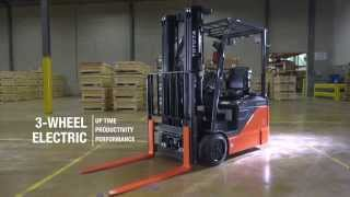 Toyota 3-Wheel Electric Forklift Official Video