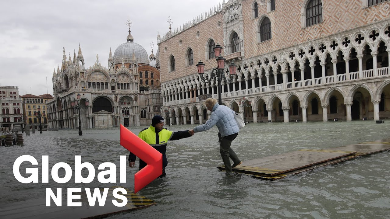 State of Emergency declared in Venice amid 3rd historic flood in less than a week