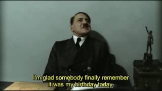 No presents for Dolfy! - Hitler parody