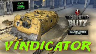 World of Tanks BLITZ - Warhammer 40K - VINDICATOR