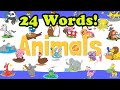 Frame from Animals Vocabulary Chant for Kids - Animal Flashcards for Babies and Toddlers