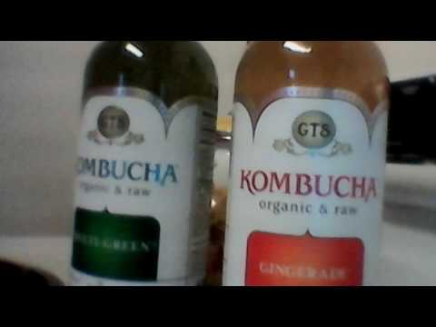 Wal-Mart haul organic kombucha multi green & gingerade full of electrolytes + polyphenols + enzymes