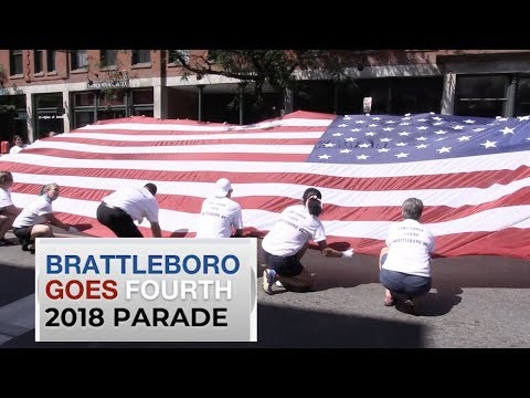 2018 Brattleboro Goes Fourth Parade