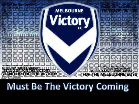 (HD) Official Melbourne Victory Club Song With Lyrics Followed By Club Chants Club Chants