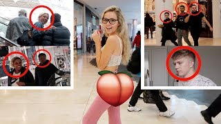 I wore a FAKE BUTT for 24 HOURS CHALLENGE! *in public*