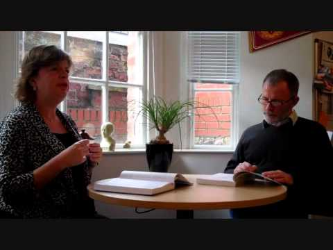 Rachel and Chris talking about Mapping Applied Linguistics Part 1