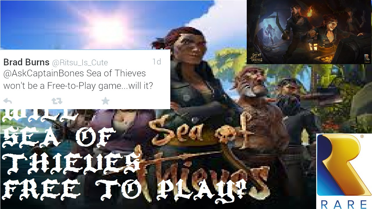 Sea of Thieves lets players invite three friends for free week