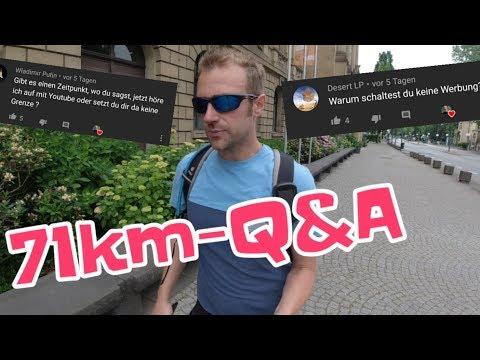 Eure Fragen meine Antworten | 71km-Q&A-Wanderung