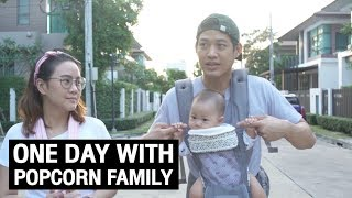 VLOG #4 One Day With Popcorn Family
