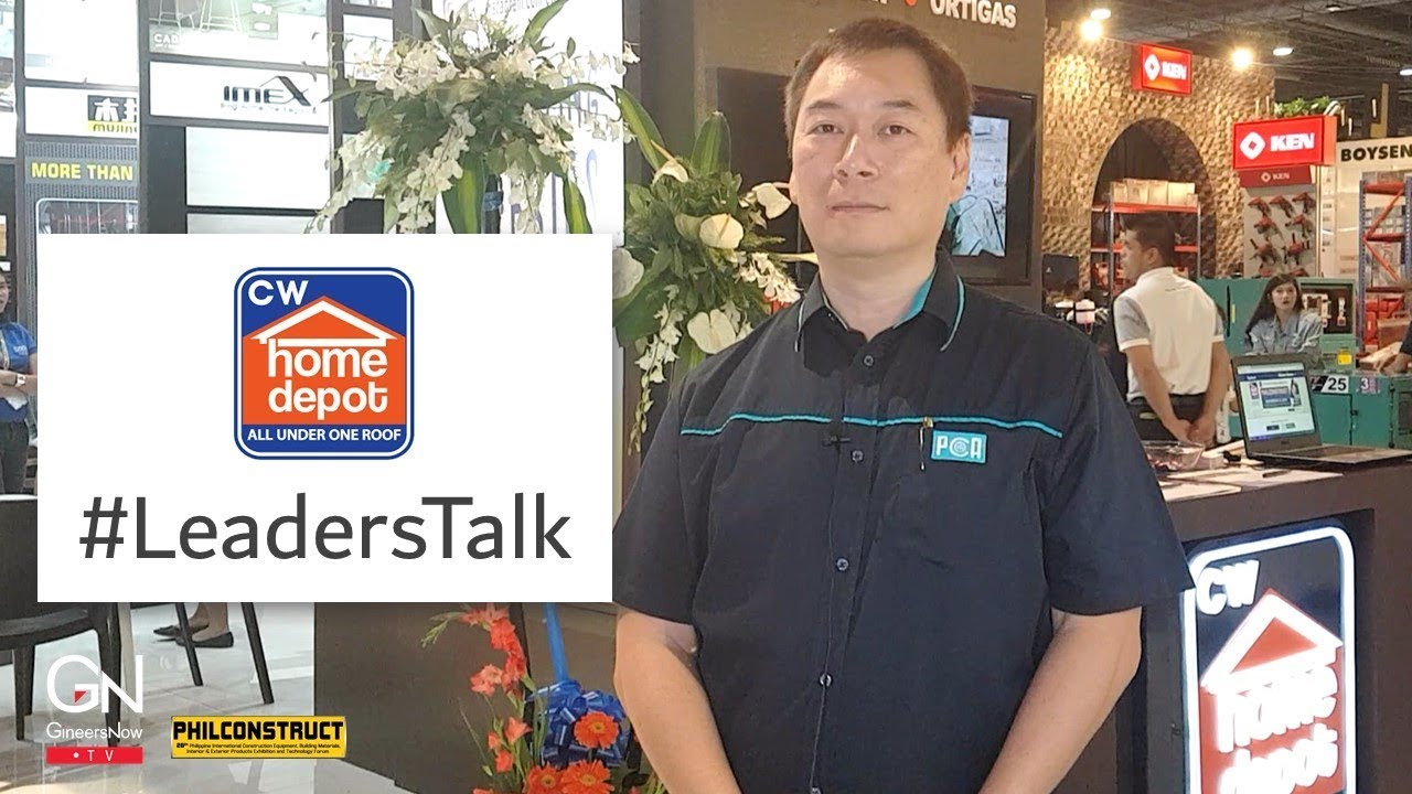 Leaderstalk With Managing Director Of Cw Home Depot Ferdinand Co Youtube