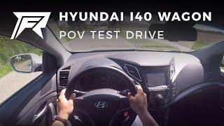2017 Hyundai i40 Wagon 1.7 CRDi - POV Test Drive (no talking, pure driving)
