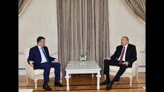 Президент Ильхам Алиев принял делегацию во главе с министром сельского хозяйства Турции
