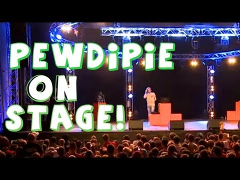 PEWDIEPIE LIVE ON STAGE! - (Fridays With PewDiePie - Part 32)