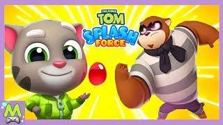 Говорящий Том Сила Всплеска/Talking Tom Splash Force.Трудная Задача для Хэнка и Короля Тома
