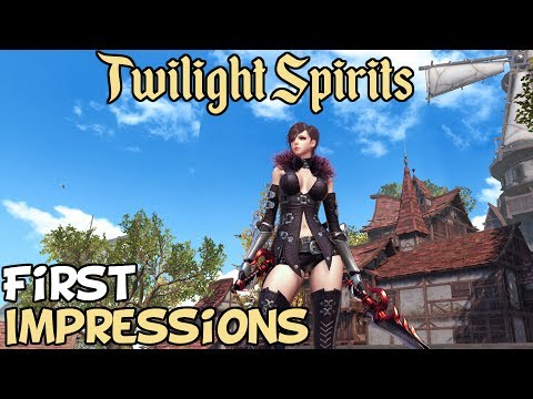 Twilight Spirits 龙魂时刻 First Impressions Is It Worth Playing?