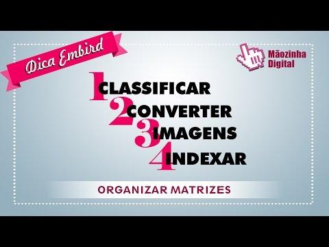 Como organizar suas matrizes