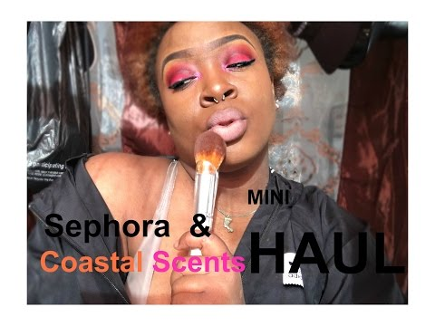 Coastel Scents & Sephora MINI | Haul !!