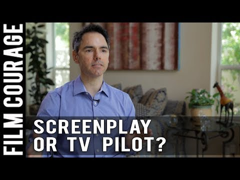 Write A Screenplay Or TV Pilot? by Daniel Calvisi