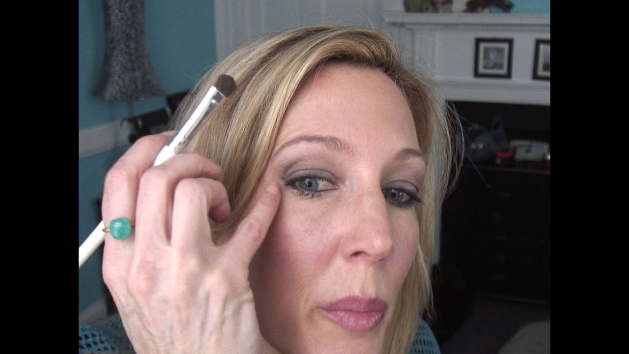 Smokey Eye Tutorial For Women Over 50 With Hooded Crepey Eyelids