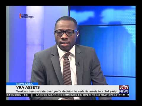 Volta River Authority (VRA) Assets - News Desk on Joy News (4-8-16)