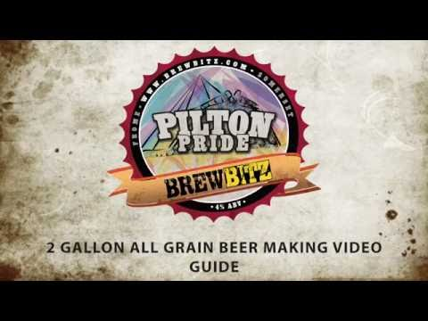 How to brew Brewbitz Pilton Pride Best Bitter using the Brewbitz All Grain Micro Brewery