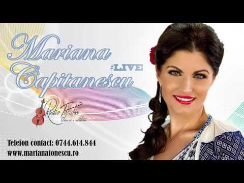 Mariana Ionescu Capitanescu - Muzica LIVE De masa by Radio Popular Romania