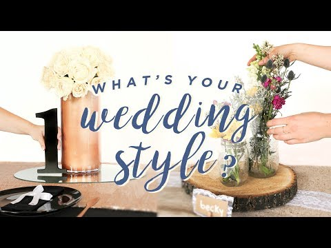 DIY WEDDING TABLE: 4 WAYS!