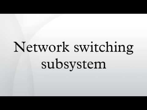 Network switching subsystem