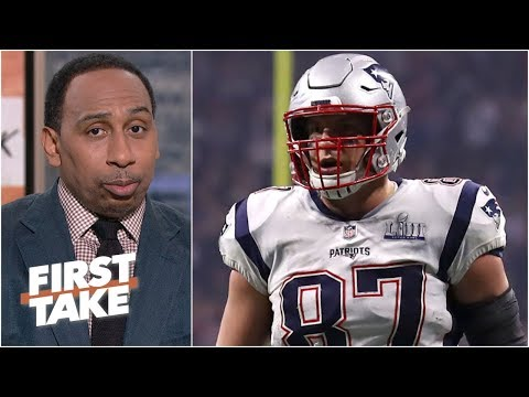Rob Gronkowski is the most talented TE of all time, but not the greatest – Stephen A. | First Take