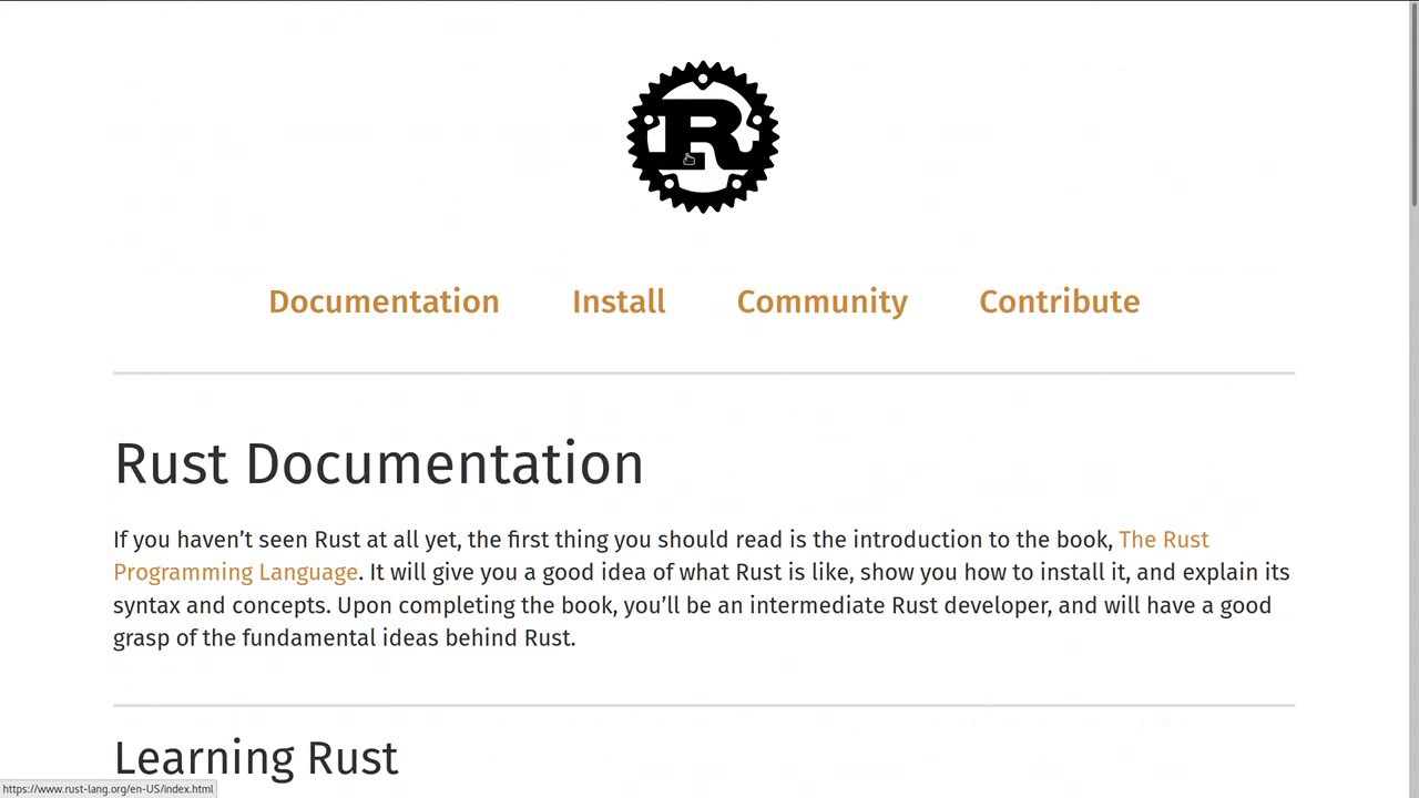 Rust Language Book