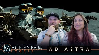 Ad Astra | Official Trailer- REACTION and REVIEW!!!